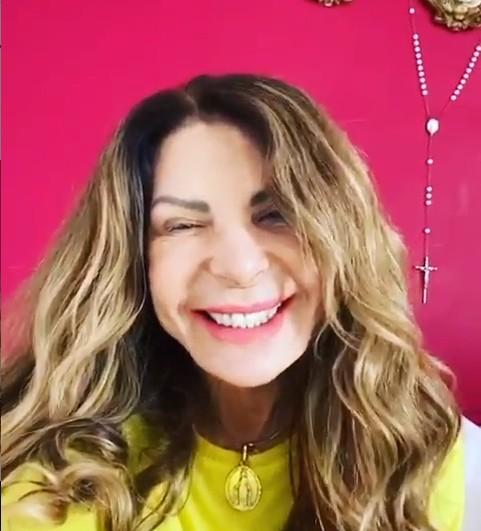 Elba Ramalho em sua redes sociais