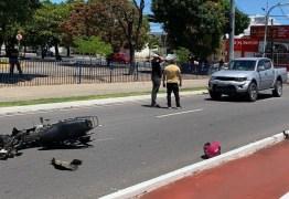 Acidente entre carro e moto no Centro de João Pessoa mata motociclista neste domingo (6)