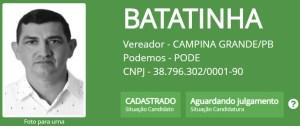 """batatinha 300x126 - Batatinha, Vovô do Cuités, Wilson Cabeludo e outros candidatos a vereador em Campina Grande também possuem nomes """"curiosos"""""""