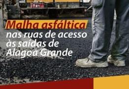 Bosco Carneiro comemora pavimentação asfáltica em Alagoa Grande