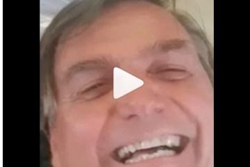 bost - Bolsonaro grava vídeo para filho de Ricardo Coutinho e Pâmela exibe publicação em suas redes sociais - VEJA VÍDEO