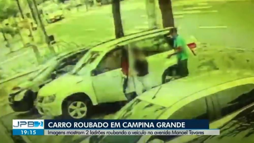 carro - Trio é preso em Campina Grande, suspeito de roubar carro em estacionamento