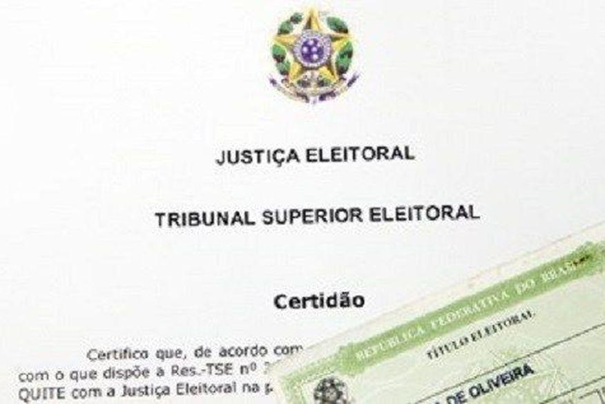 certidao eleitoral - Documento obrigatório para homologação: Candidatos tem até sexta-feira para solicitar e pegar certidão criminal