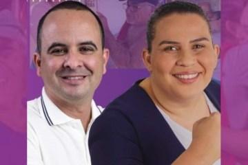 clecitone e luciene - Capitão Clecitone: O vice que ninguém esperava - por Heleno Teixeira