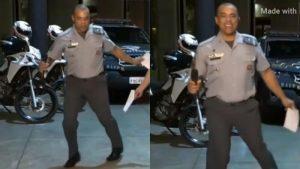 collage pm dançando 800x450 1 300x169 - Conheça o Capitão Duarte, PM que viralizou nas redes dançando em live, e disparou as doações