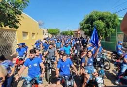 Convenções e carreatas têm registrado aglomerações e público sem máscara em municípios paraibanos