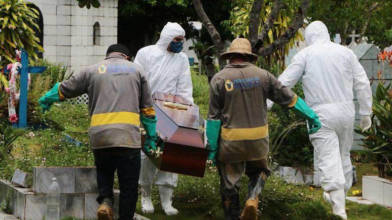 coorna - PANDEMIA: Brasil registra mais 899 mortes por covid e passa de 130 mil