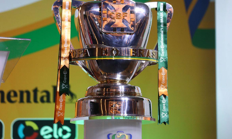 copa do brasil taca cbf - Copa do Brasil: sorteio decide duelos da quarta fase
