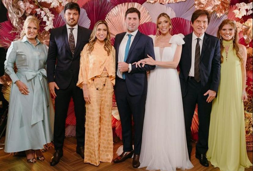 fad104ce 6077 4108 b356 99f53805ac27 - FESTA EM JP: Patrícia Abravanel e Fábio Faria participam de casamento do secretário Graco Parente