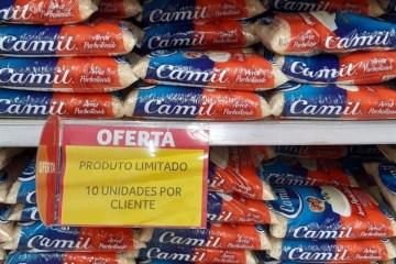 VENDA LIMITADA: alta nos preços e demora na reposição de produtos faz supermercados de JP reduzir venda de arroz, leite e óleo