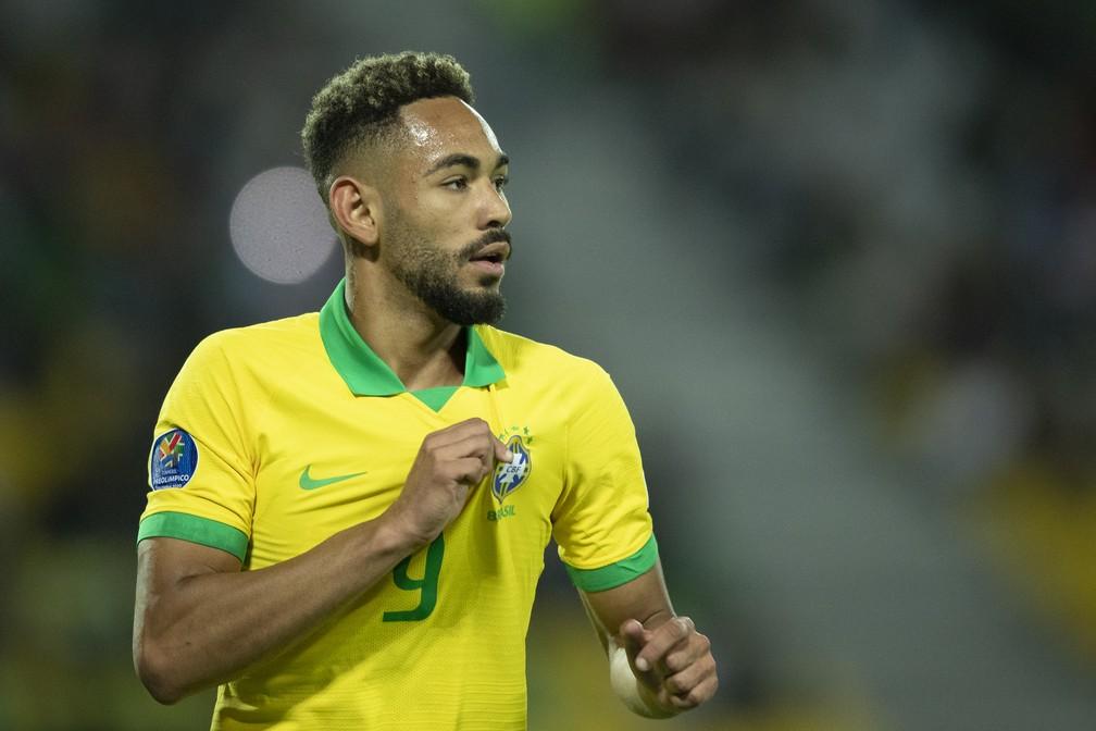 matheus cunha - ELIMINATÓRIAS: Paraibano Matheus Cunha é convocado para a seleção brasileira de futebol