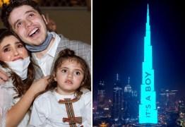 Casal de youtubers usa prédio mais alto do mundo para chá revelação – VEJA VÍDEO