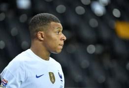 Mbappé é diagnosticado com covid-19 antes de jogo da seleção francesa