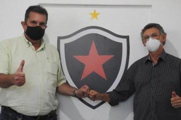 """orlando soares e luciano wanderley - Chapa """"Belo para Todos"""" é lançada para disputar à presidência do Botafogo-PB"""