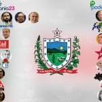 partidos 1 escalao - O GOVERNO E SEUS ALIADOS: Qual o tamanho de cada partido no primeiro escalão do Governo de João Azevêdo?