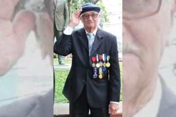 Morre Penicilina, ex-combatente do Exército e que lutou na Itália durante a Segunda Guerra Mundial
