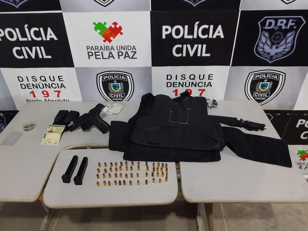 pp - Homem é preso em Campina Grande suspeito de fingir ser policial penal para cometer crimes