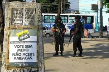 ELEIÇÃO PÓS-BOLSONARO: Paraíba tem 192 candidatos ligados a polícias e forças armadas