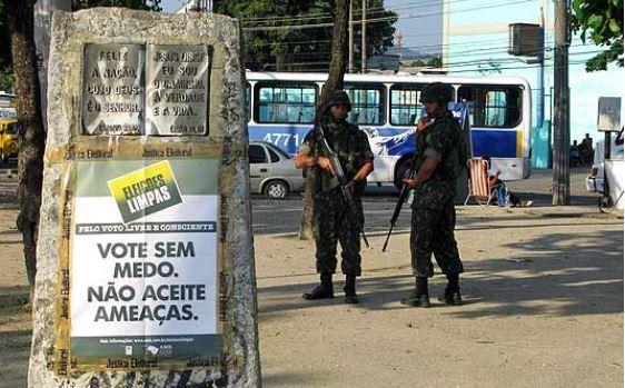 soldados - ELEIÇÃO PÓS-BOLSONARO: Paraíba tem 192 candidatos ligados a polícias e forças armadas