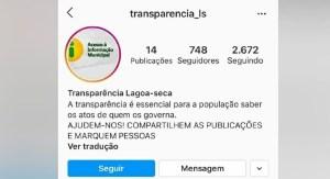 transparencia lagoa seca 300x163 - Justiça Eleitoral determina exclusão de perfis suspeitos de propagar fake news pelo Facebook