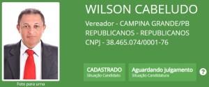 """wilson cabeludo 300x125 - Batatinha, Vovô do Cuités, Wilson Cabeludo e outros candidatos a vereador em Campina Grande também possuem nomes """"curiosos"""""""