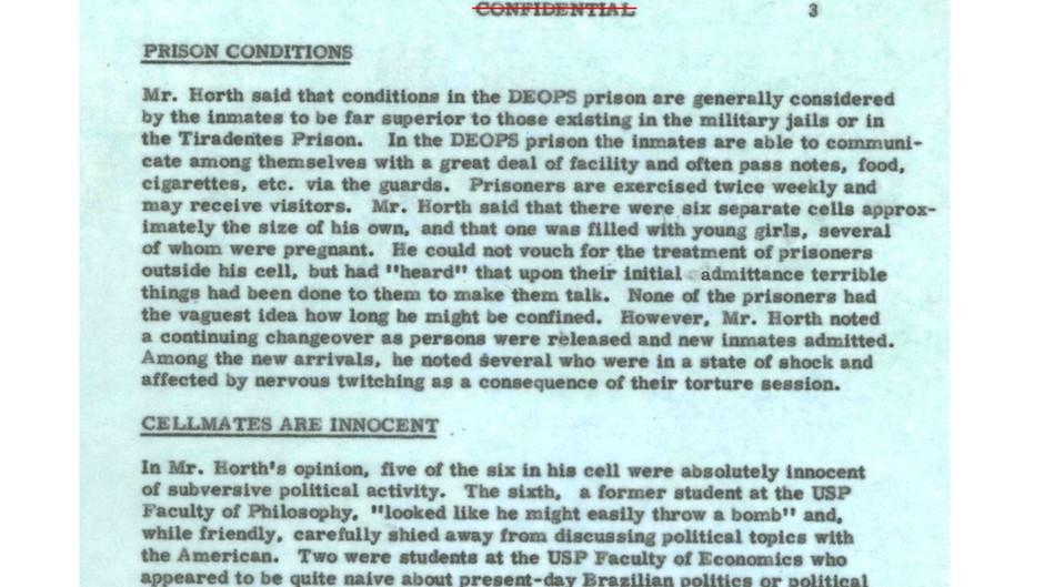 114819763horth - Biden entregou ao Brasil provas de torturas e mortes na ditadura; Bolsonaro nega