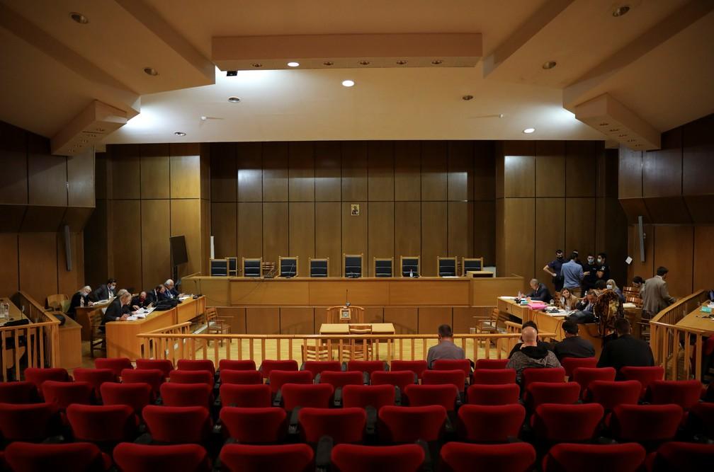 2020 10 14t092128z 929022012 rc29ij9op5sv rtrmadp 3 greece golden dawn trial - Chefe de partido neonazista grego é condenado a 13 anos de prisão