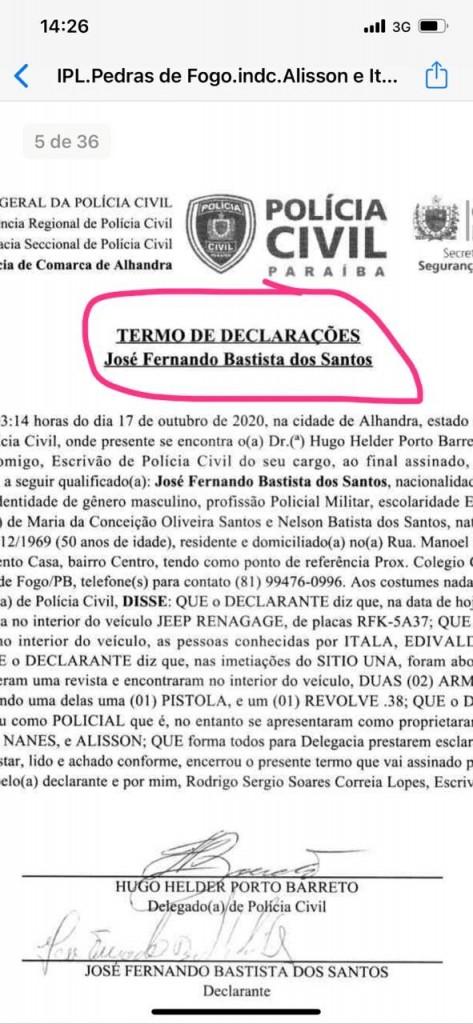 5ffdbee6 452a 48b5 8adf 026d9c17d0c2 - PEDRAS DE FOGO: candidatos a vereadores e militares de Manoel Júnior são presos por porte ilegal de arma, e intimidação de eleitores; confira