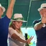 AGUINALDO SAO BENTO - PARTICIPAÇÃO ATIVA: Aguinaldo e Daniella Ribeiro abraçam candidatura de Galego e Jureia em São Bento