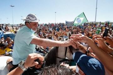 Bolsonaro 1 - Nenhum dos apoiados por Lula ou Bolsonaro é líder nas pesquisas