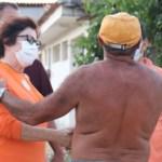 """Capturar.JPGt  - """"Povo quer continuar avançando"""", destaca Márcia Lucena após receber apoio da população do Conceição, em Conde"""