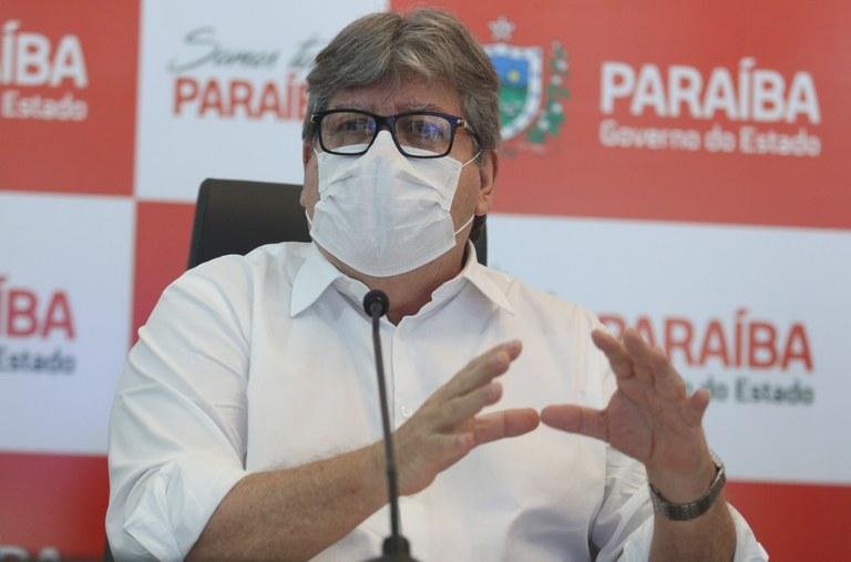 João Azevêdo - 'CAUSA PREOCUPAÇÃO': governador cita aumento de casos na PB e pede contribuição da população contra pandemia