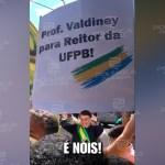 WhatsApp Image 2020 10 01 at 14.02.15 - Durante passagem de Bolsonaro por Campina Grande, grupo pede nomeação do terceiro colocado na disputa para reitoria da UFPB