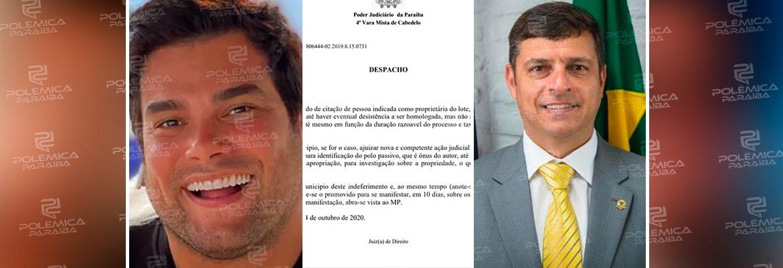 WhatsApp Image 2020 10 06 at 09.43.39 - Juíza intima humorista Rafael Cunha para se manifestar sobre caso envolvendo terrenos com a prefeitura de Cabedelo – VEJA DOCUMENTO