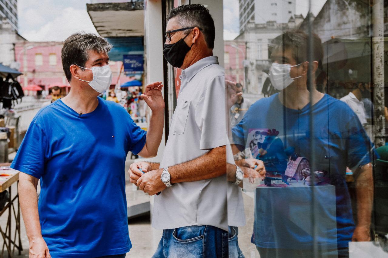 WhatsApp Image 2020 10 21 at 08.49.48 - Acessibilidade: Ruy quer calçadas padronizadas no Centro de João Pessoa