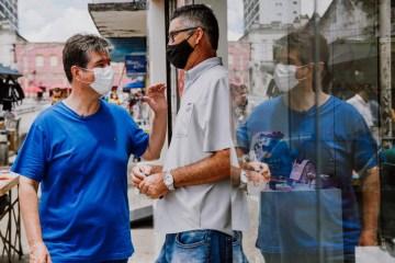 Acessibilidade: Ruy quer calçadas padronizadas no Centro de João Pessoa