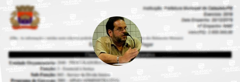 arthur gadelha - Documento de pagamento a Rafael Cunha teria sido assinado por contador exonerado em Cabedelo; contador nega