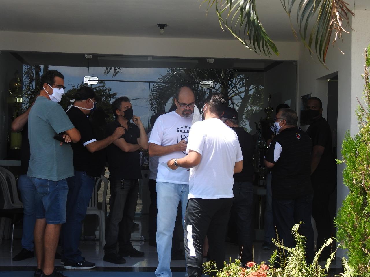 breno morais - Eleição no Botafogo-PB é suspensa após confusão por conta de liminar