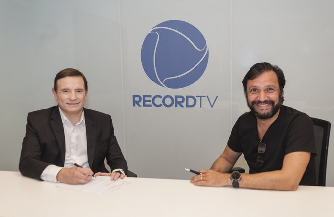 cabrini record - NA RECORDTV: De casa nova, Roberto Cabrini vai produzir reportagens para o Domingo Espetacular
