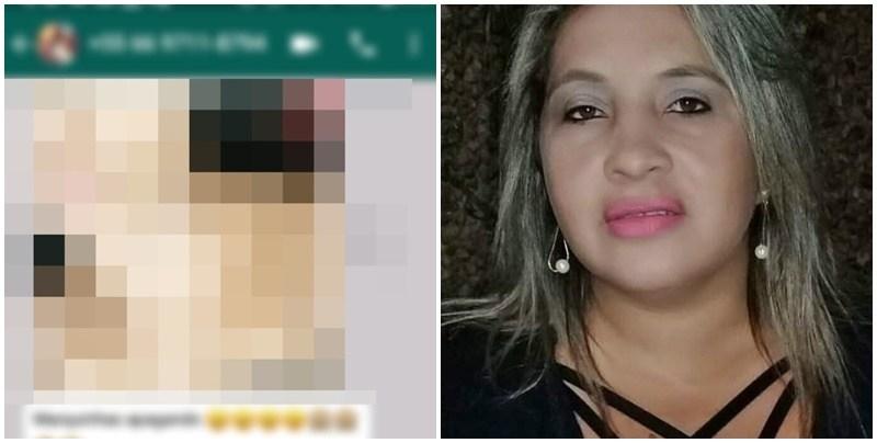 candidata - MANDOU NUDES: Candidata à vereadora exibe foto pelada em grupo de Whatsapp e pede votos