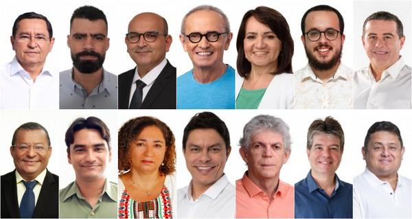 candidatos a prefeito de joao pessoa em 2020 2 - Confira a agenda dos candidatos a prefeito de João Pessoa neste domingo (8)