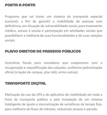 cicero porta a porta - MOBILIDADE URBANA: Cícero Lucena e Ricardo Coutinho têm propostas de governo com o mesmo texto – CONFIRA