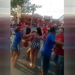 confusao - Eventos partidários são marcados por confusões e agressões entre eleitores neste fim de semana na Paraíba - VEJA VÍDEO