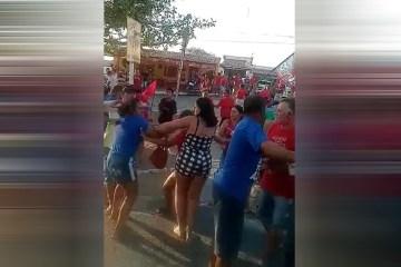 Eventos partidários são marcados por confusões e agressões entre eleitores neste fim de semana na Paraíba – VEJA VÍDEO