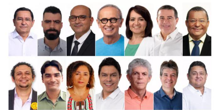 fotos - Reuniões, gravação de guia, encontros e caminhadas marcam a agenda dos candidatos à prefeitura de João Pessoa nesta segunda-feira; CONFIRA