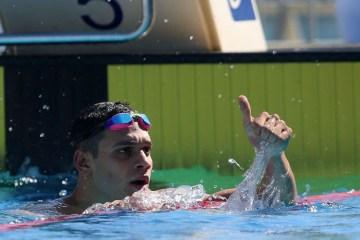 Leonardo Santos vence 200 medley com recorde pessoal, na Hungria
