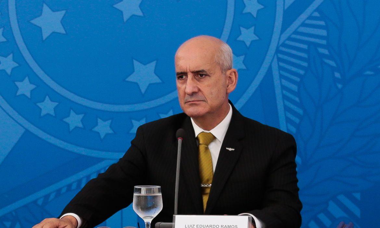 ministro luiz eduardo ramos - DÉCIMO: Luiz Eduardo Ramos é mais um ministro a contrair Covid-19