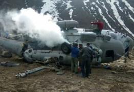 TRAGÉDIA: Dois helicópteros do exército afegão colidem e matam nove soldados