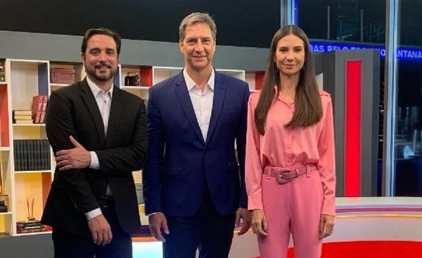 navarro lacombe e amanda - Apoiadores de Bolsonaro pedem saída de jornalista do programa de Lacombe