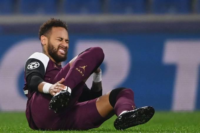 neymar psg lesao - Técnico do PSG confirma lesão de Neymar e prevê volta após 3 semanas